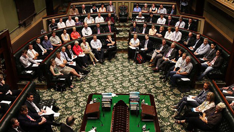 Parlament von New South Wales (Foto: theTelegraph)